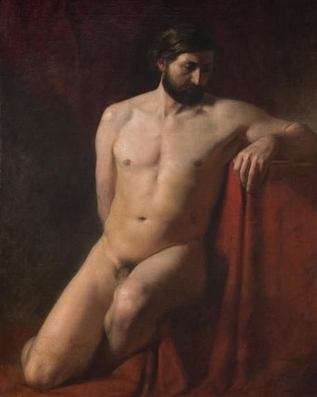 Male Nude :: Genrikh Semiradsky - nude men фото