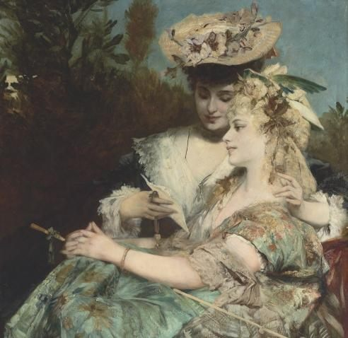 Women's portraits of Hans Makart