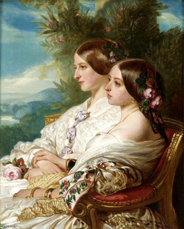 """Image for """"Woman and child in painting and art"""""""