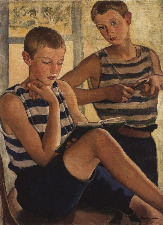 "Image for ""Portraits of young boys"""