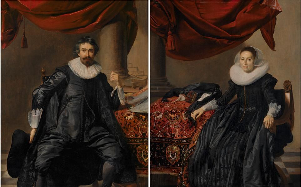 "Image for ""Paired portraits (man and woman)"""