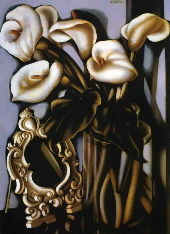Art deco painting by Tamara de Lempicka