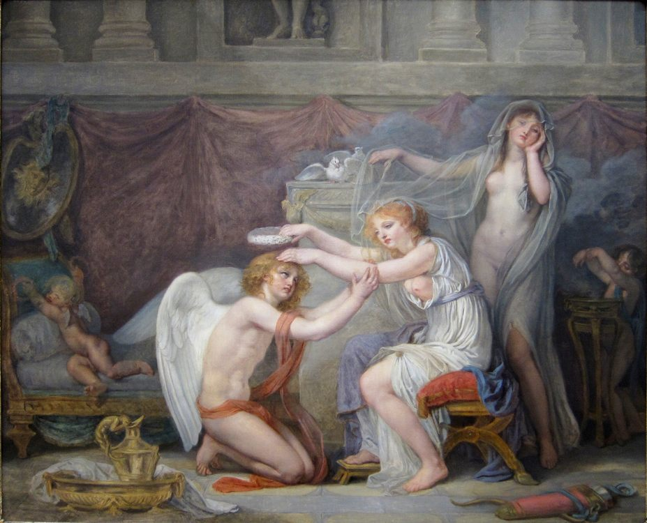 Psyche in art and painting