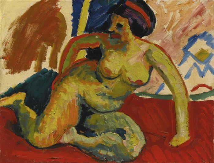Herman Max Pekhstein (1881-1955) - expressionist, artist of the berlin Session.
