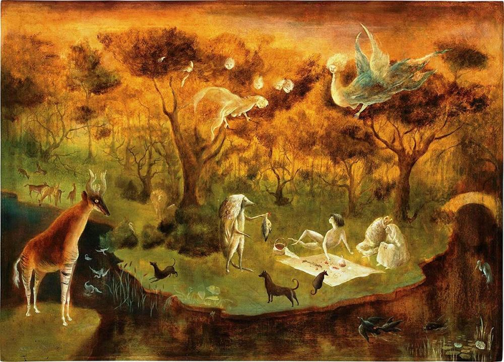 surrealism - Hunter Angels, Leonora Carrington