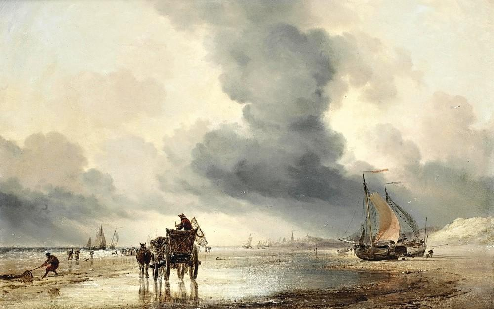 marine painter Edward William Cook
