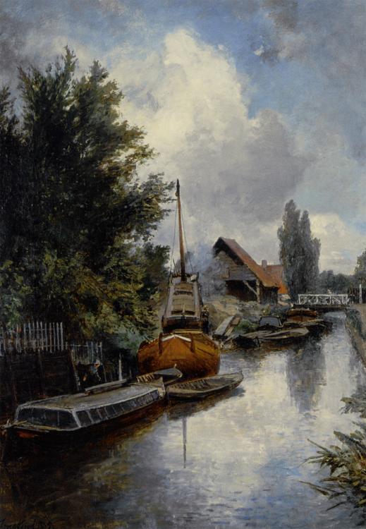 River landscapes in art and painting