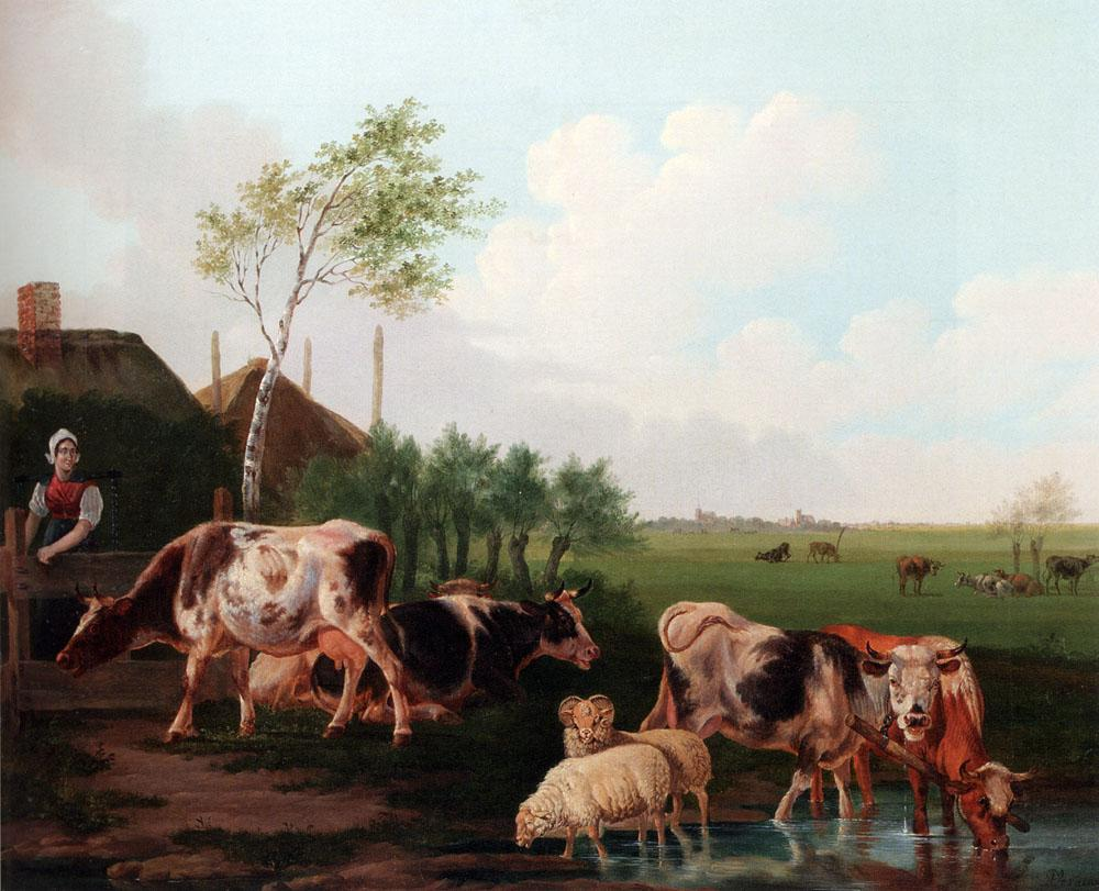 Landscapes with cows