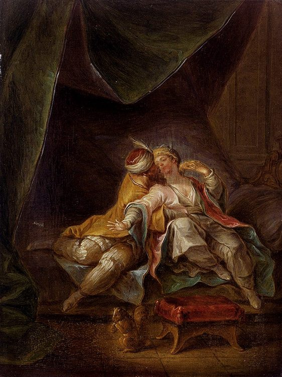 La Sultane Favorite :: Francois Eisen - Romantic scenes in art and painting фото