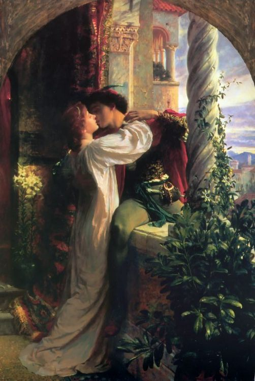 Romeo and Juliet :: Frank Dicksee - Romantic scenes in art and painting ôîòî