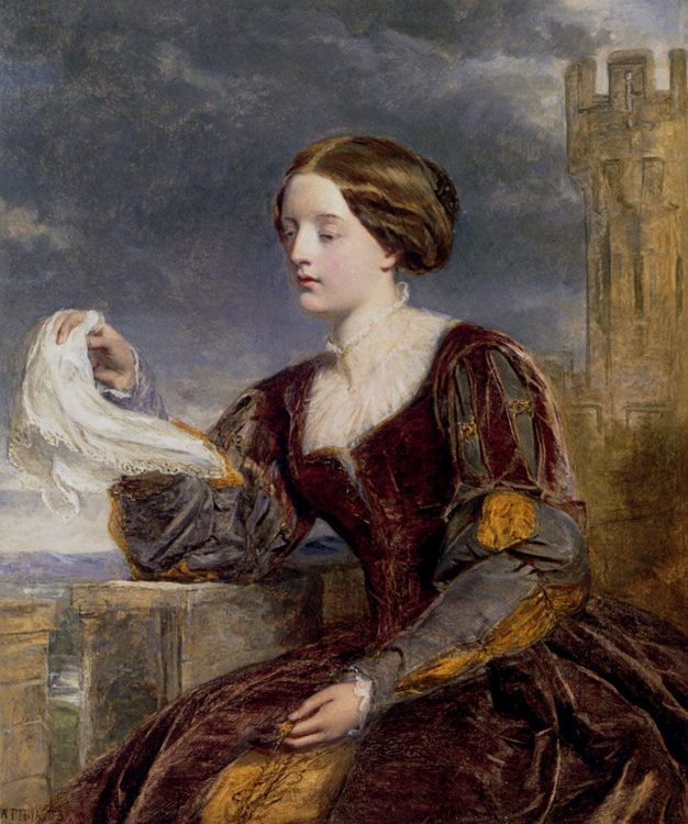 The Signal :: William Powell Frith - Romantic scenes in art and painting фото