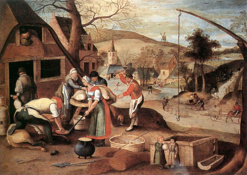 Autumn :: Abel Grimmer - Village life ôîòî
