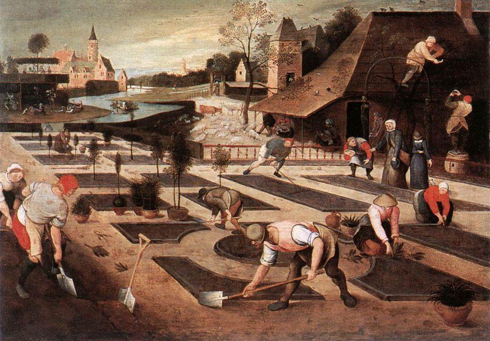 Spring :: Abel Grimmer - Village life ôîòî