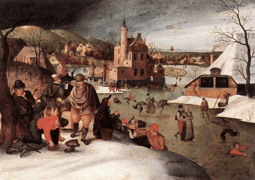 Winter :: Abel Grimmer - Village life ôîòî