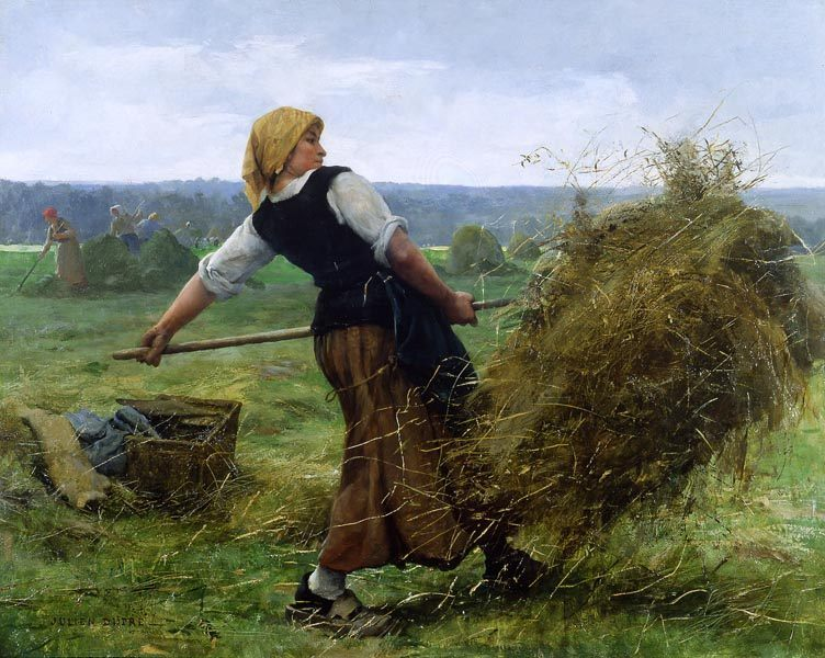 The Haymaker :: Julien Dupre  - Village life фото