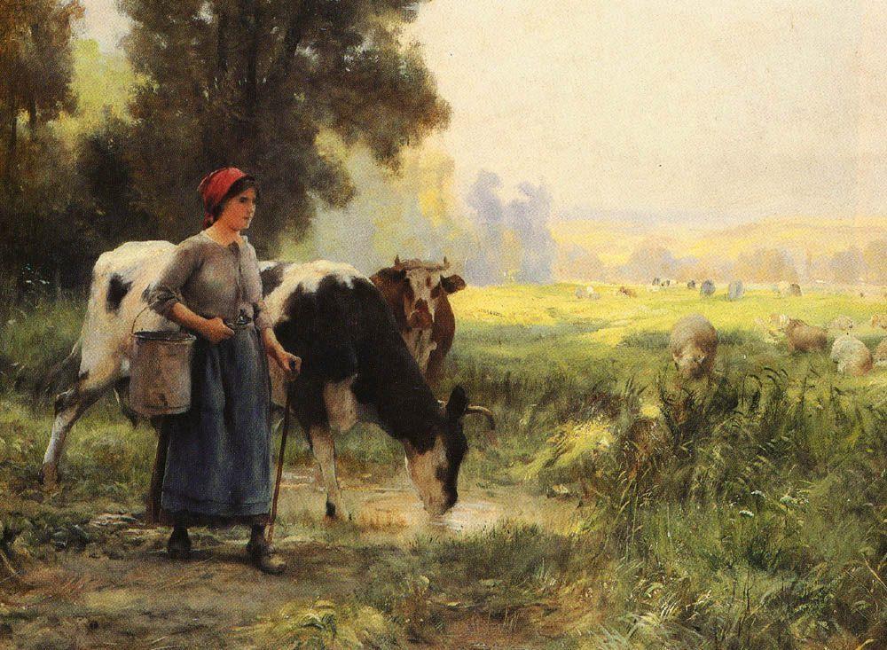 La Vachere :: Julien Dupre - Village life ôîòî