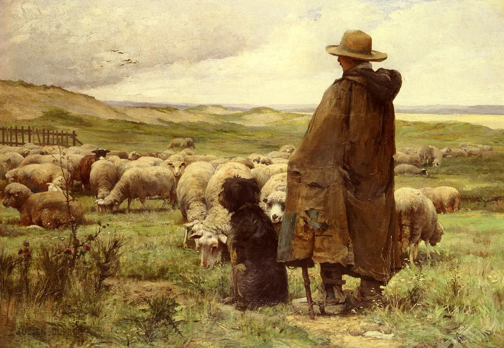 The Shepherd :: Julien Dupre - Village life ôîòî