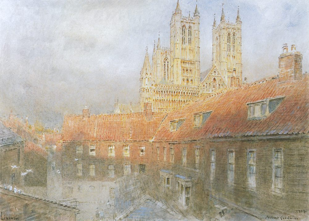Lincoln :: Albert Goodwin - Architecture фото