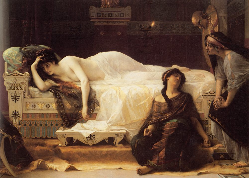 Phaedra :: Alexandre Cabanel - nu art in mythology painting фото