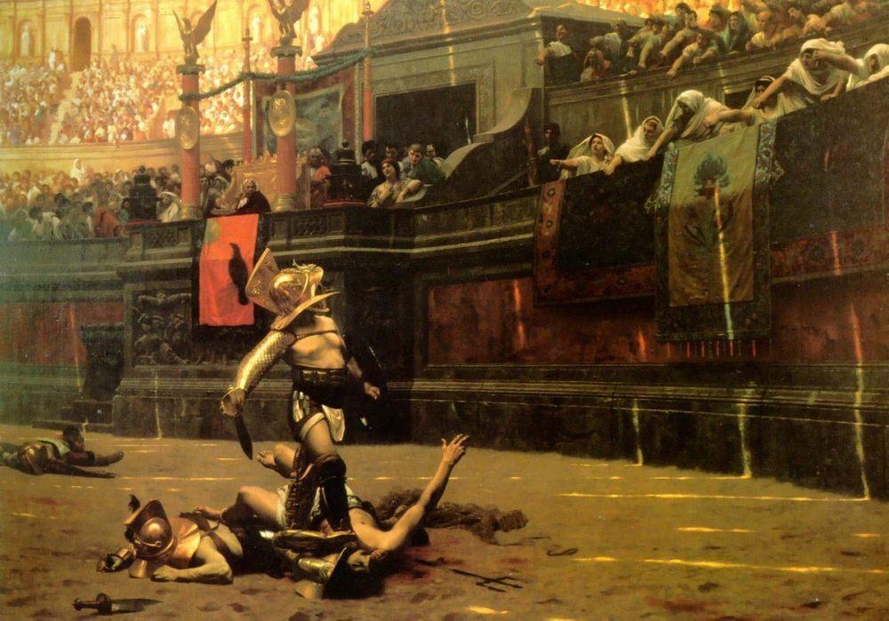 Vivant Denon Replacing El Cid's Remains in their Tombs :: Alexandre Evariste Fragonard - Antique world scenes ôîòî