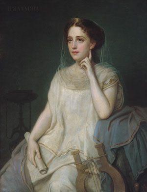 Polyhymnia :: Giuseppe Fagnani - mythology and poetry ôîòî