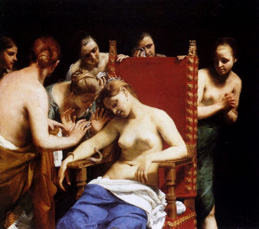 The Death Of Cleopatra :: Guido Cagnacci - Antique world scenes ôîòî
