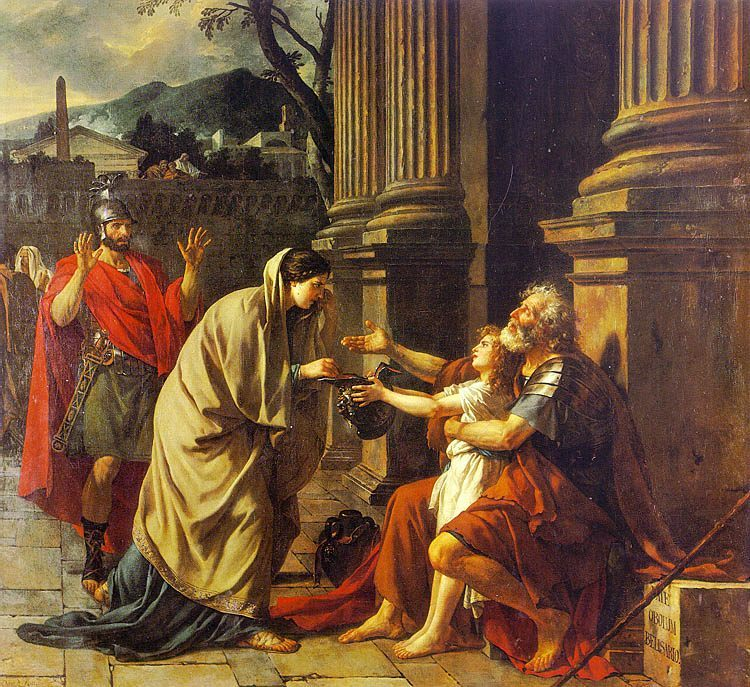Belisarius :: Jacques-Louis David - Antique world scenes ôîòî