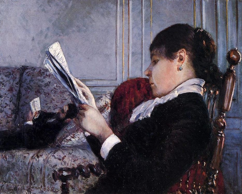 Interior :: Gustave Caillebotte - Interiors in art and painting фото