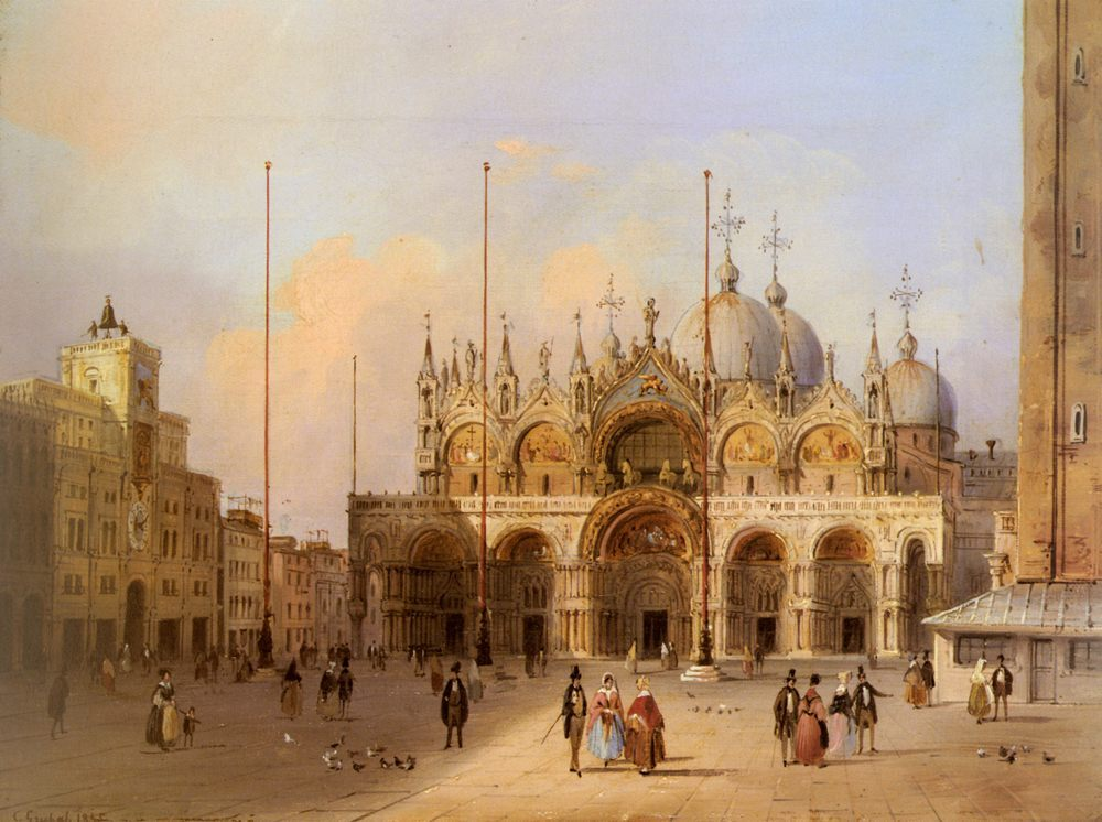 Basilica Di San Marco :: Carlo Grubacs  - Architecture фото