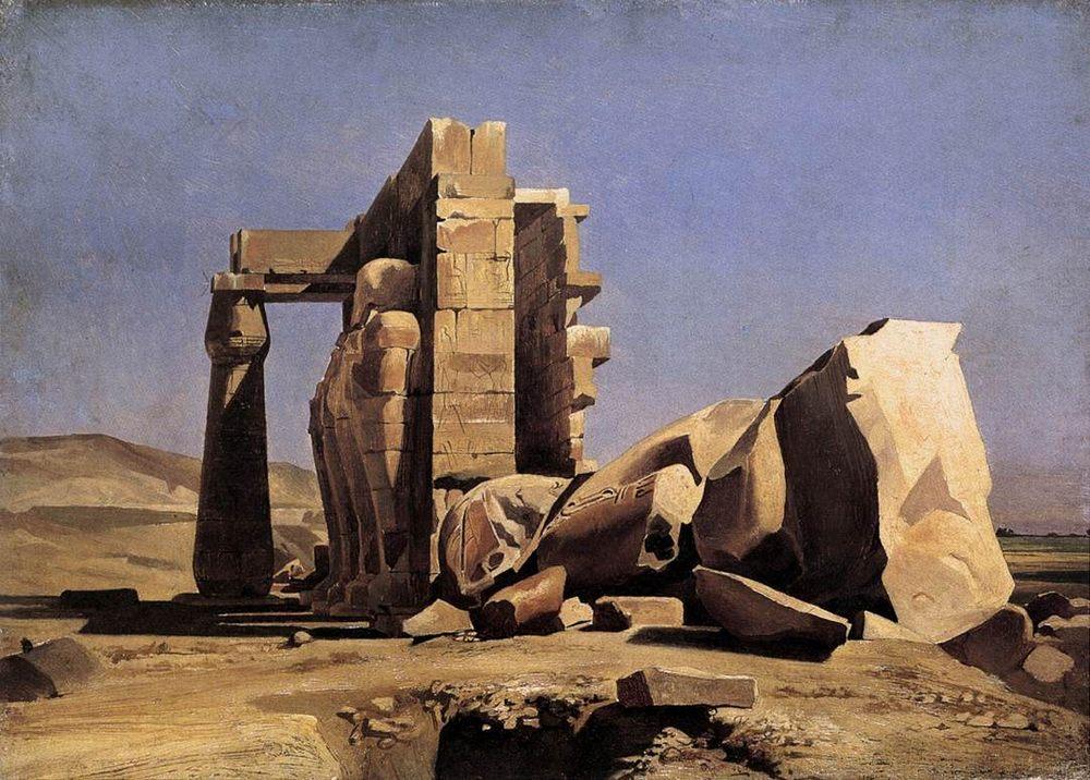 Egyptian Temple :: Charles Gleyre - Ruins ôîòî