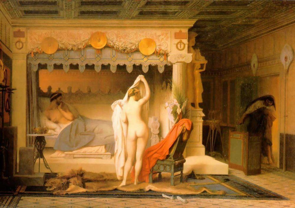 King Candaules :: Jean-Leon Gerome  - Antique world scenes ôîòî