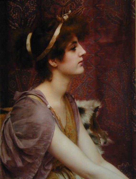 Classical Beauty :: John William Godward - Antique world scenes ôîòî