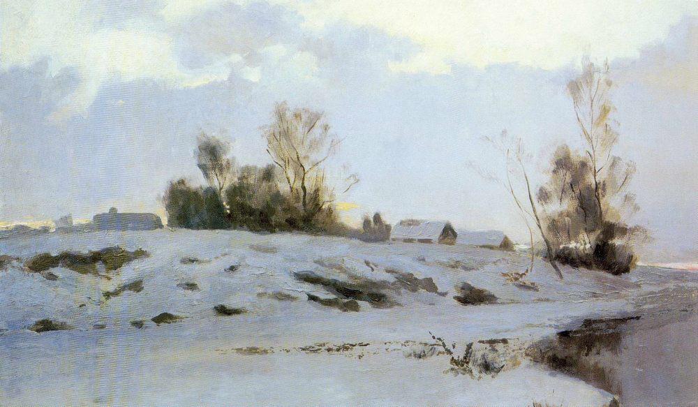 the Beginning of spring :: Endogurov Ivan Ivanovich  - winter landscapes фото