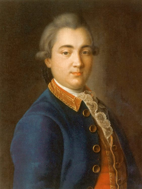 Boris Vladimirovich Sheremetiev's portrait  :: Argunov, Ivan Petrovich - men's portraits 18th century фото