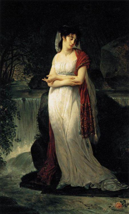 Christine Boyer :: Antoine-Jean Gros - 5 women portraits ( the beginning of 19 centuries ) ôîòî