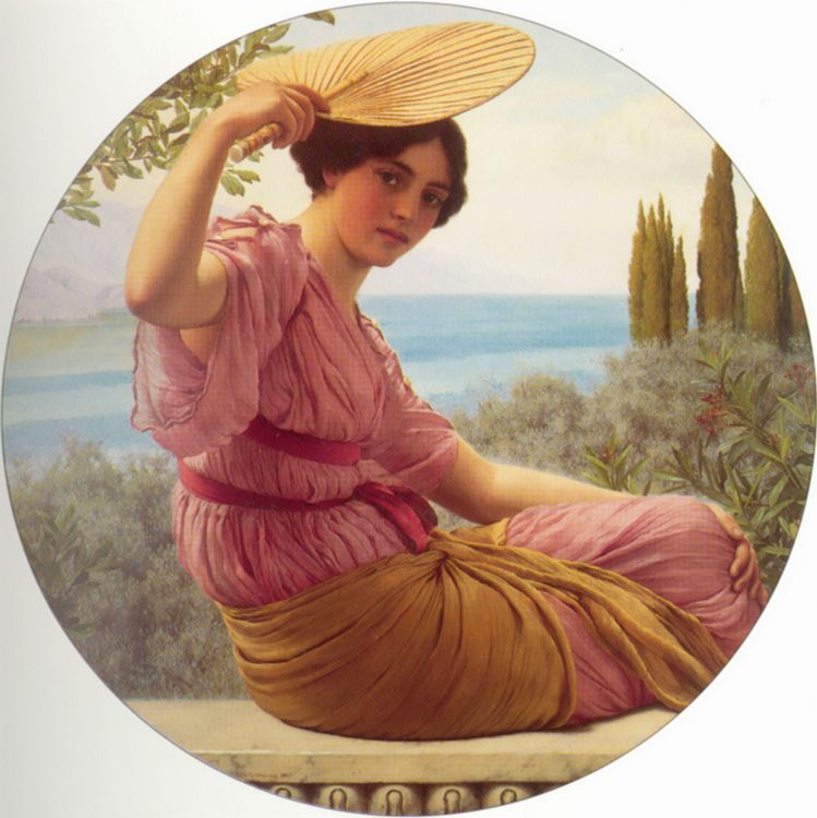 Golden Hours :: John William Godward - Antique world scenes ôîòî
