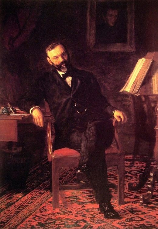 Dr John H. Brinton :: Thomas Eakins  - Interiors in art and painting фото