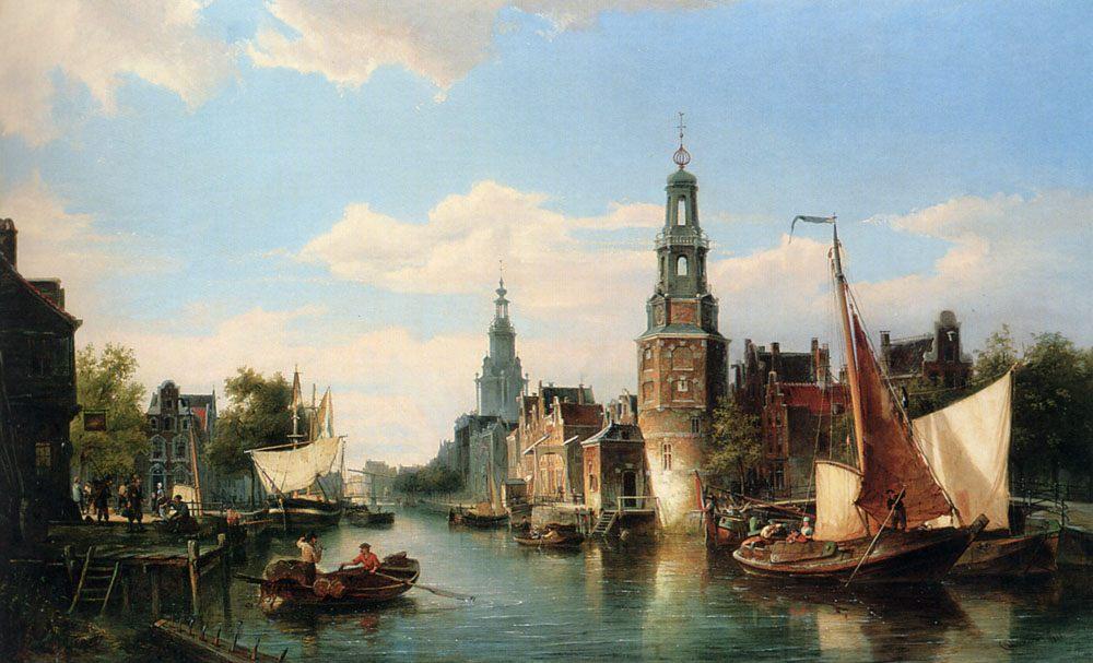 The Montelbaans Tower, Amsterdam :: Cornelis Christiaan Dommelshuizen - Architecture ôîòî