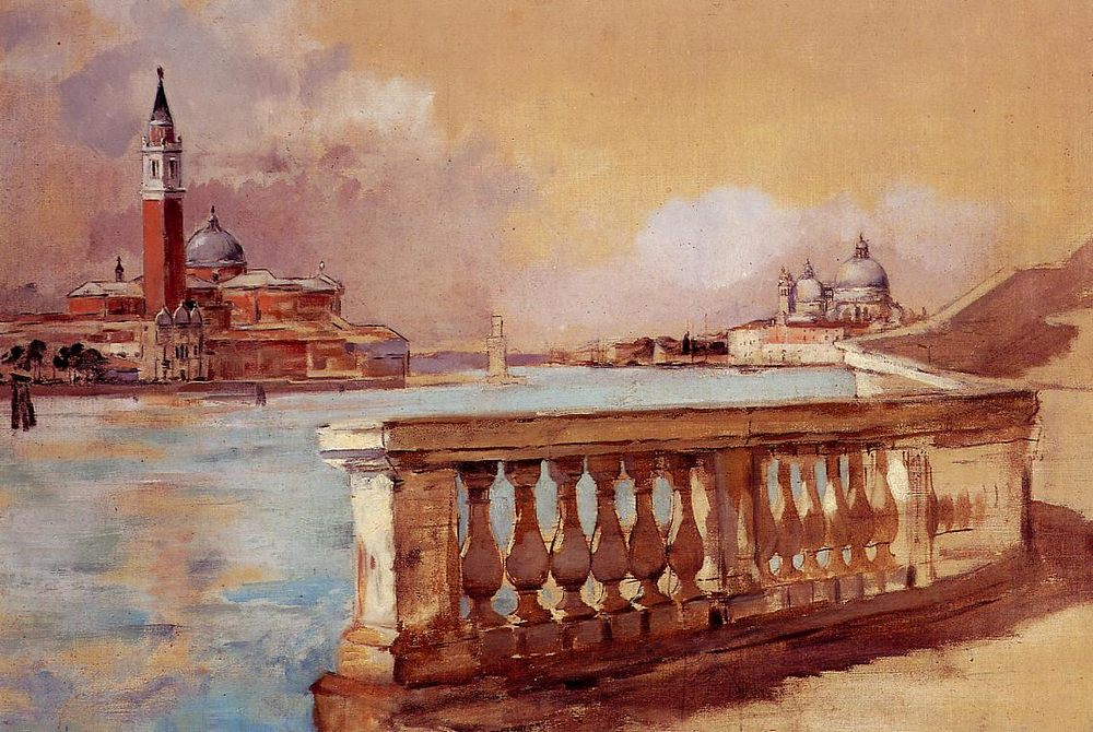 Grand Canal in Venice :: Frank Duveneck - Architecture ôîòî