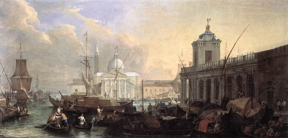 The Sea Custom House with San Giorgio Maggiore :: Luca Carlevaris - Architecture ôîòî