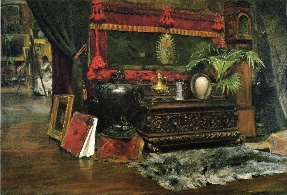 A Corner of My Studio :: A Corner of My Studio  - Interiors in art and painting ôîòî