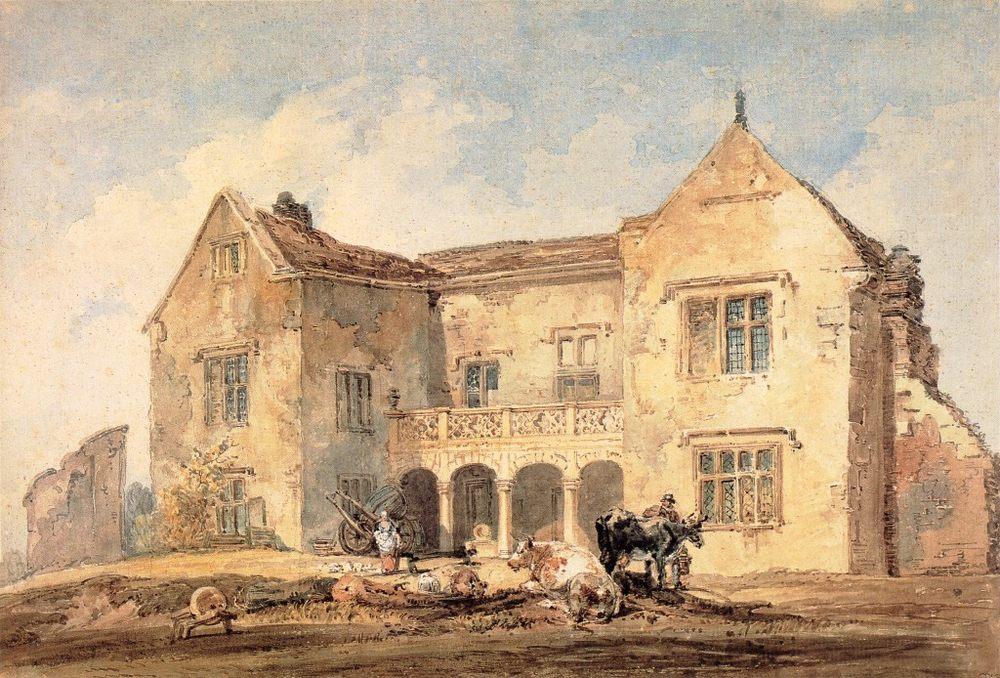 St Nicholas Hospital, Richmond, Yorkshire :: Thomas Girtin - Architecture фото