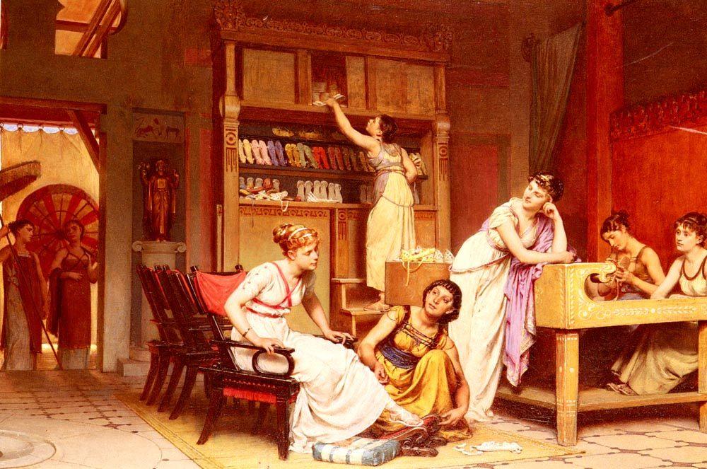 The Sandal Makers :: The Sandal Makers - Antique world scenes ôîòî