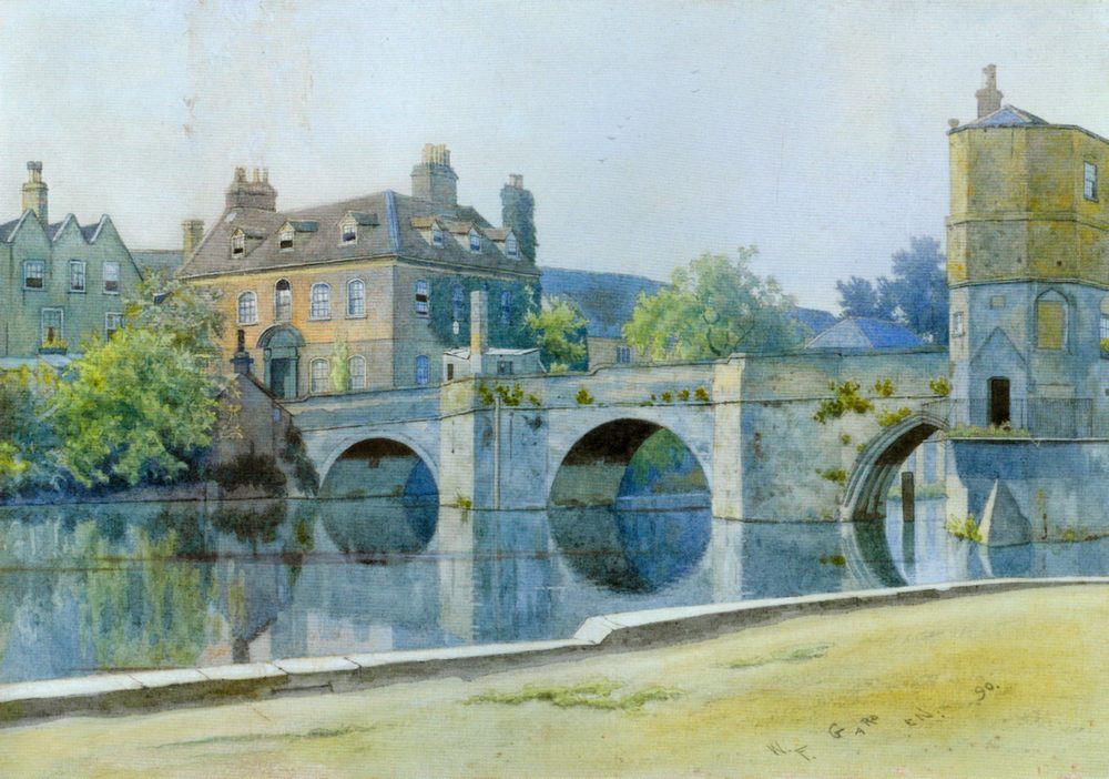 The Bridge at St. Ives :: William Fraser Garden - Architecture ôîòî