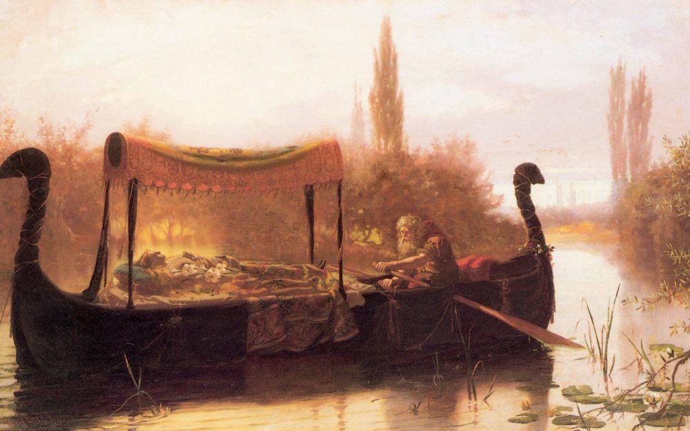 Elaine :: Robert Gibb - Antique world scenes фото