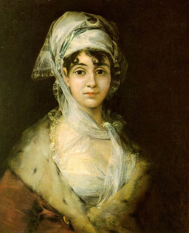 Antonia Zarate :: Francisco de Goya - 5 women portraits ( the beginning of 19 centuries ) фото