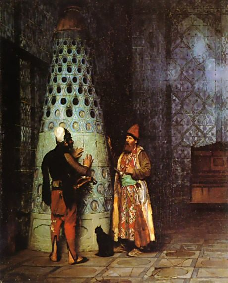 Waiting for an Audience :: Jean-Leon Gerome - scenes of Oriental life (Orientalism) in art and painting ôîòî