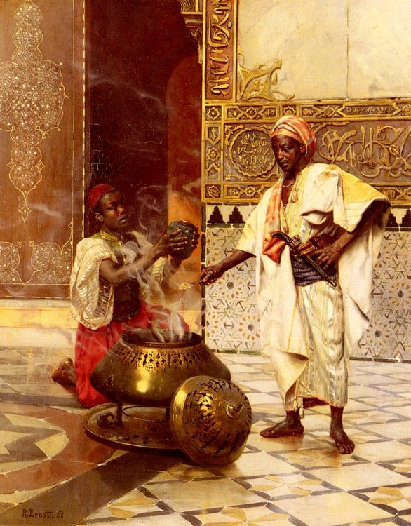 In The Alhambra :: Rudolf Ernst - scenes of Oriental life ( Orientalism) in art and painting фото