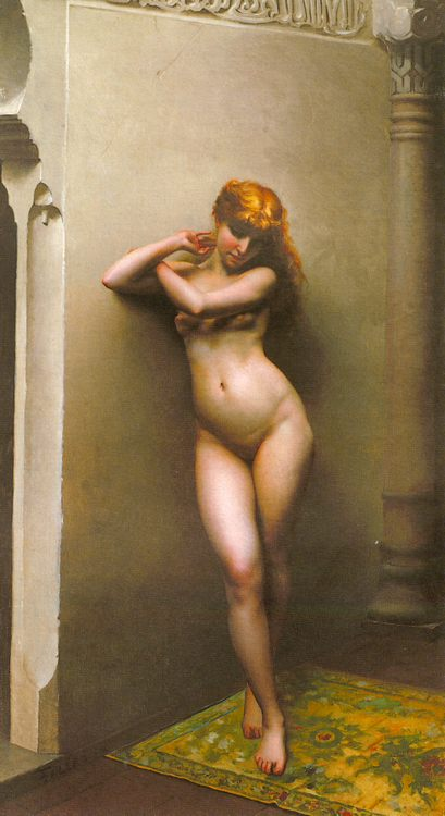 La favorite :: Luis Ricardo Falero - Arab women ( Harem Life scenes ) in art  and painting фото