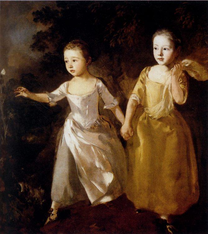 Painter's Daughters :: Thomas Gainsborough - Children's portrait in art and painting ôîòî